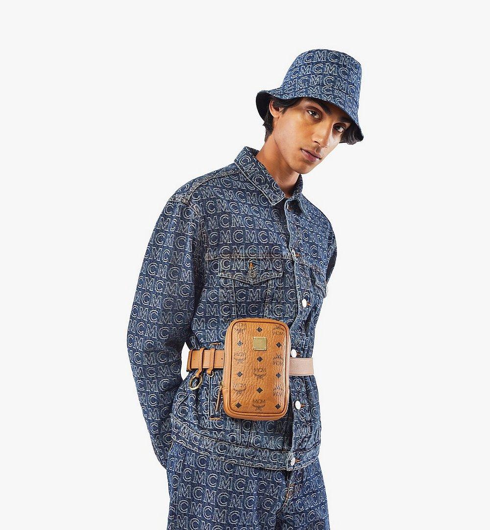 MCM N/S Klassik Belt Bag in Visetos Cognac MMZAAKC01CO001 Alternate View 2