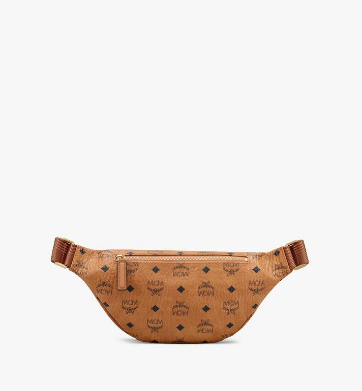 MCM Year Of The Mouse Fursten Belt Bag in Visetos Cognac MMZASFI08CO001 Alternate View 2
