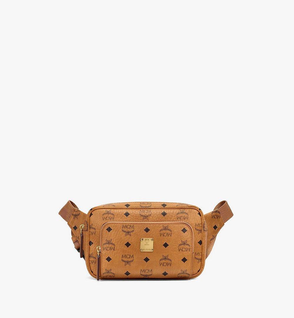 MCM Fursten Belt Bag in Visetos Cognac MMZBSFI03CO001 Alternate View 1