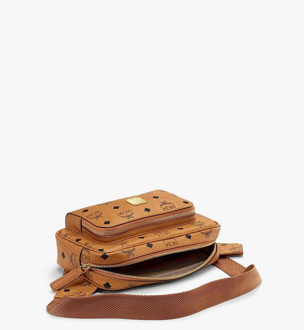 MCM Fursten Belt Bag in Visetos Cognac MMZBSFI03CO001 Alternate View 2