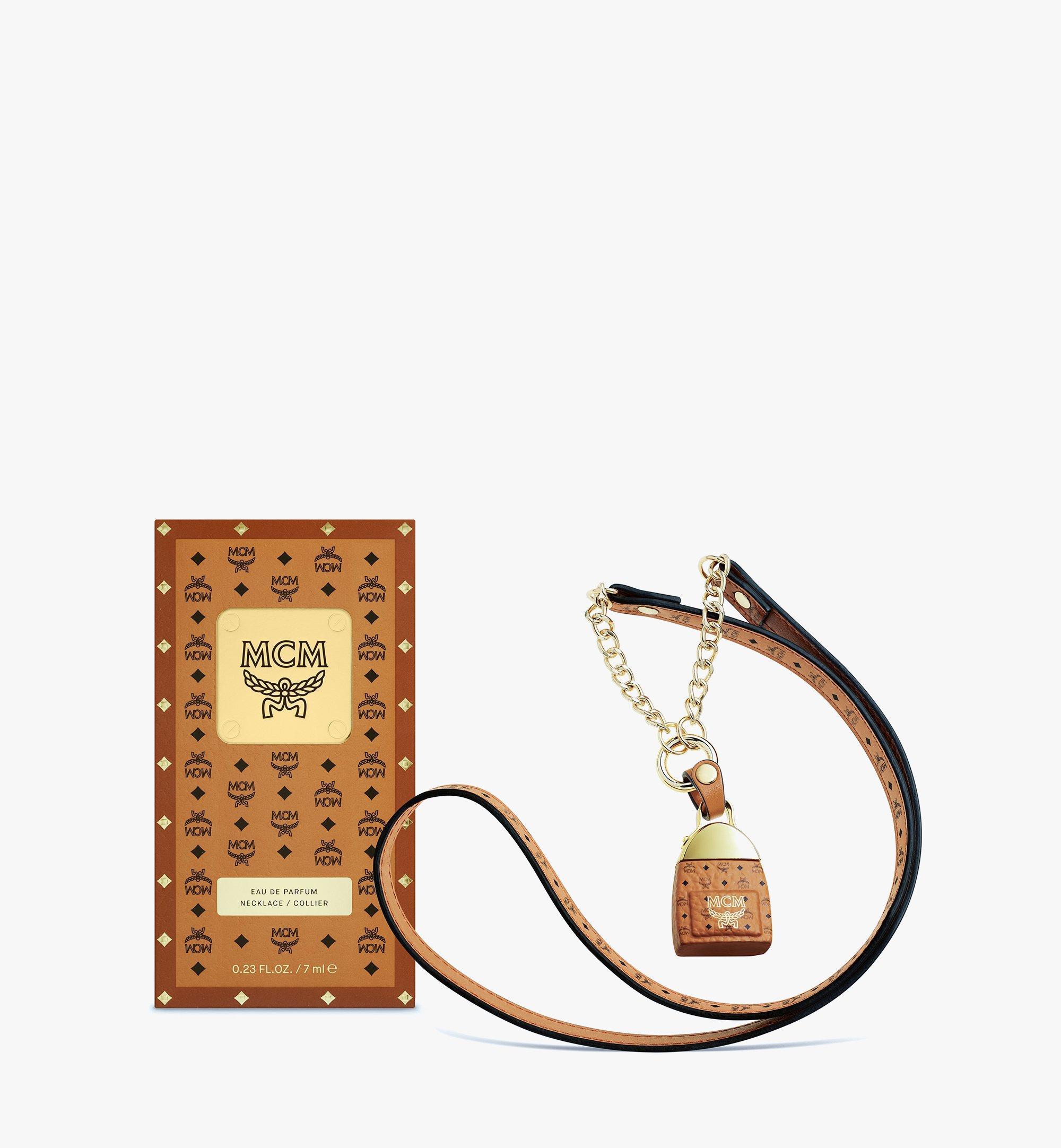 MCM MCM Eau de Parfum Necklace Cognac MPFBAMM01CO001 Alternate View 1