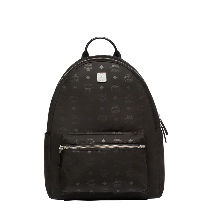 MCM Stark Classic Backpack in Monogram Nylon Alternate View