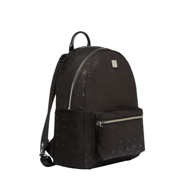 MCM Stark Classic Backpack in Monogram Nylon MUK7ADT10BK001 AlternateView2