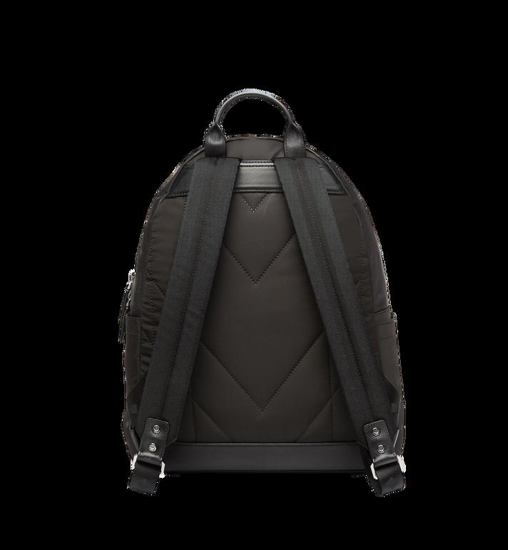 MCM Stark Classic Backpack in Monogram Nylon Black MUK7ADT10BK001 Alternate View 4