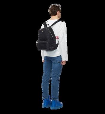 MCM Stark Classic Backpack in Monogram Nylon MUK7ADT10BK001 AlternateView6