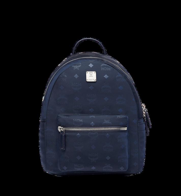32 Cm 12 5 In Stark Classic Backpack In Monogram Nylon Navy Mcm It
