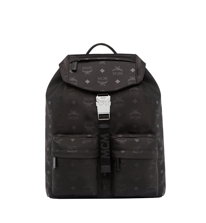 MCM Kreuzberg Rucksack in Monogram Nylon Alternate View