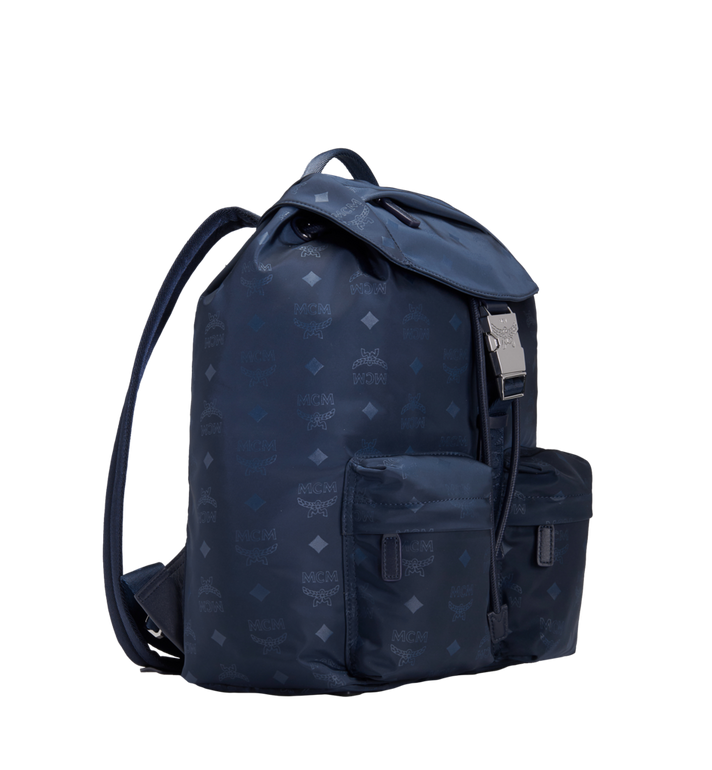 MCM Kreuzberg Rucksack in Monogram Nylon Navy MUK7ADT17VA001 Alternate View 2