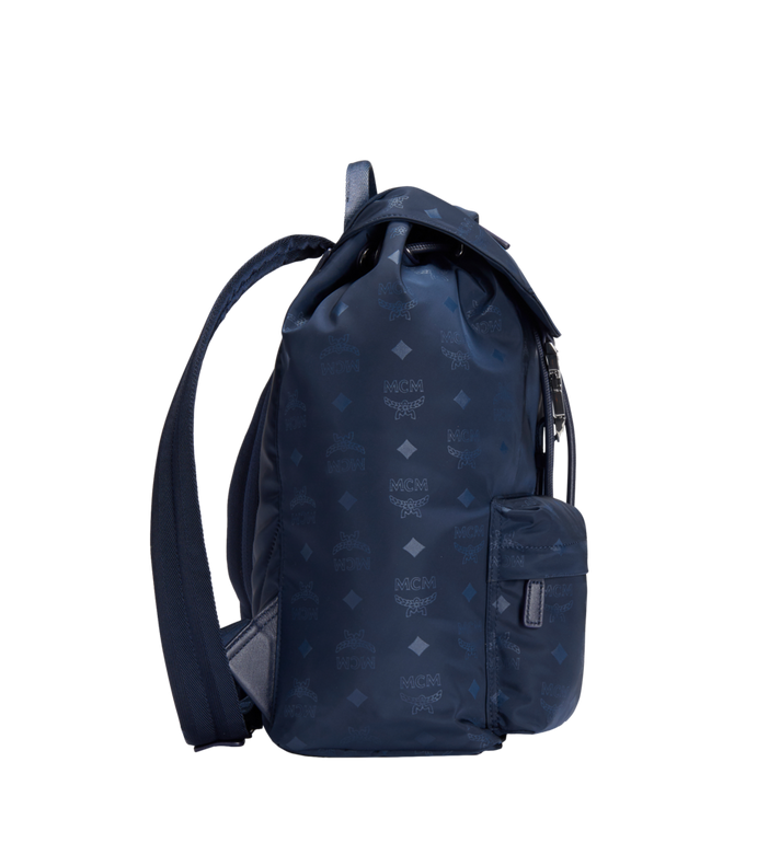 MCM Kreuzberg Rucksack in Monogram Nylon Navy MUK7ADT17VA001 Alternate View 3