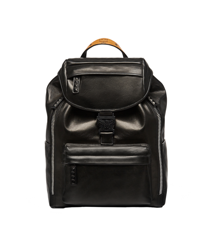 MCM Killian Backpack in Lambskin Leather MUK7SKB01BK001 AlternateView