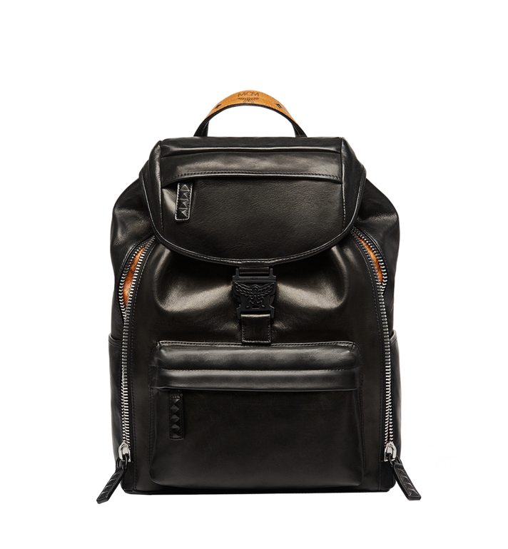 MCM Killian Backpack in Lambskin Leather MUK7SKB01BK001 AlternateView2