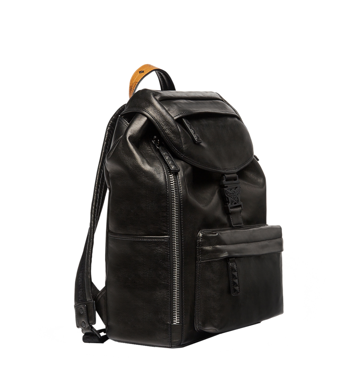 MCM Killian Backpack in Lambskin Leather MUK7SKB01BK001 AlternateView3