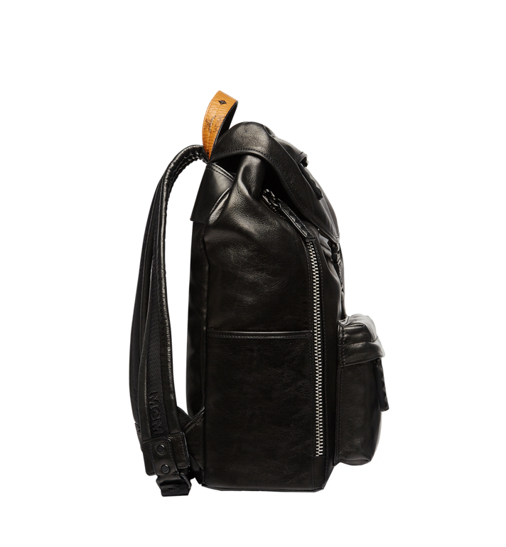 MCM Killian Backpack in Lambskin Leather MUK7SKB01BK001 AlternateView5