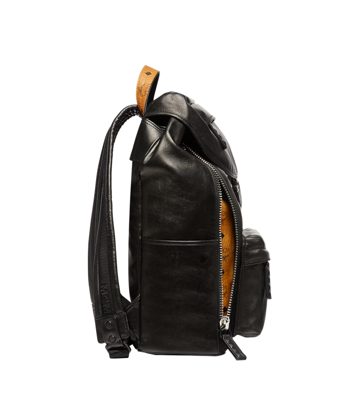 MCM Killian Backpack in Lambskin Leather MUK7SKB01BK001 AlternateView6