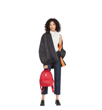 MCM Dieter Teardrop Backpack in Monogram Nylon MUK8ADT11RJ001 AlternateView6