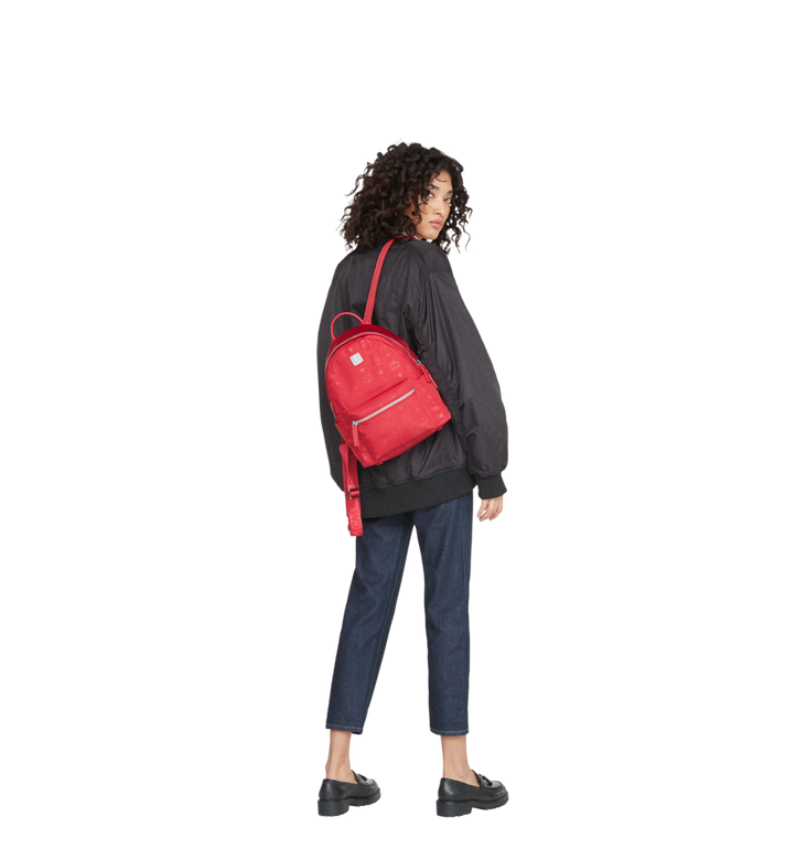 MCM Dieter Teardrop Backpack in Monogram Nylon MUK8ADT11RJ001 AlternateView7