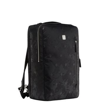 MCM Dieter Briefpack in Textured Camo Nylon MUK8ADT62BK001 AlternateView2