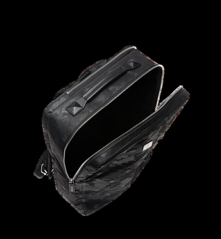 MCM Dieter Briefpack in Textured Camo Nylon MUK8ADT62BK001 AlternateView5