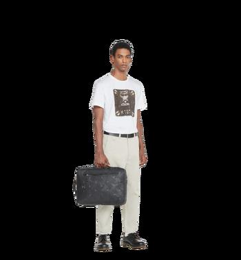 MCM Dieter Briefpack in Textured Camo Nylon MUK8ADT62BK001 AlternateView6