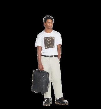 MCM Dieter Briefpack in Textured Camo Nylon MUK8ADT62BK001 AlternateView7