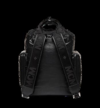 MCM Stadt Backpack in Vintage Lambskin MUK8ASD05BK001 AlternateView4