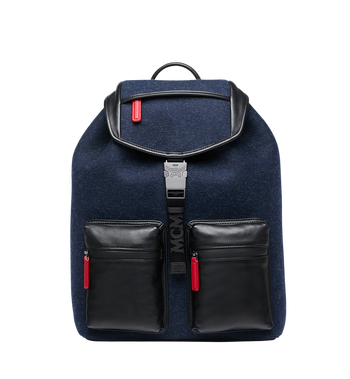 MCM Stadt Backpack in Loden MUK8ASD09VY001 AlternateView