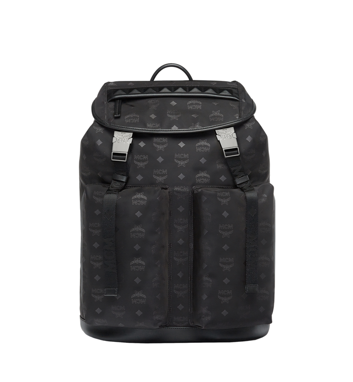 MCM Kreuzberg Backpack in Monogram Nylon AlternateView