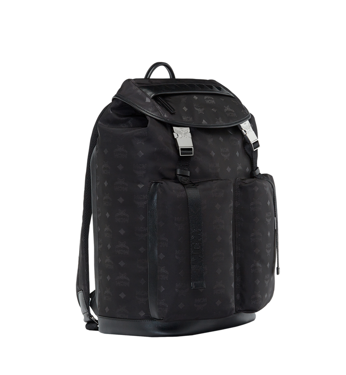 MCM Kreuzberg Backpack in Monogram Nylon AlternateView2