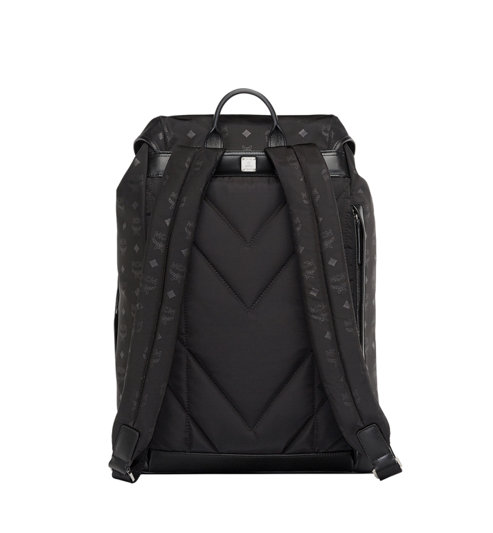 MCM Kreuzberg Backpack in Monogram Nylon AlternateView4