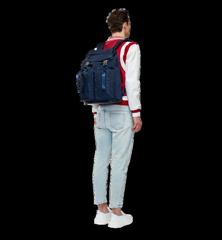 MCM Kreuzberg Backpack in Monogram Nylon AlternateView6