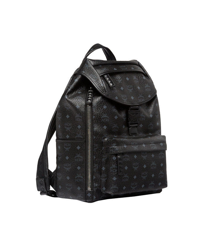 MCM Killian Backpack in Visetos Black MUK8SKB09BK001 Alternate View 2