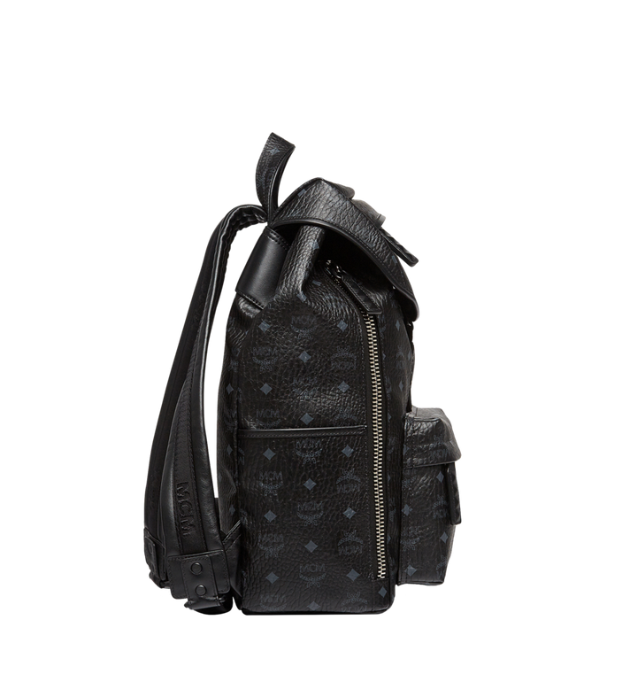 MCM Killian Backpack in Visetos Black MUK8SKB09BK001 Alternate View 4