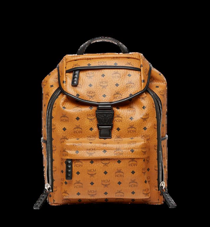 MCM Killian Backpack in Visetos Cognac MUK8SKB09CO001 Alternate View 2