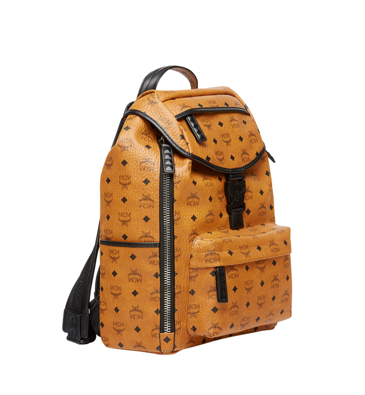 MCM Killian Backpack in Visetos Cognac MUK8SKB09CO001 Alternate View 3