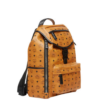 MCM Killian Backpack in Visetos MUK8SKB09CO001 AlternateView3