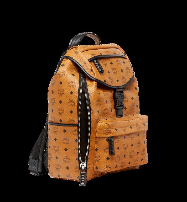 MCM Killian Backpack in Visetos Cognac MUK8SKB09CO001 Alternate View 4