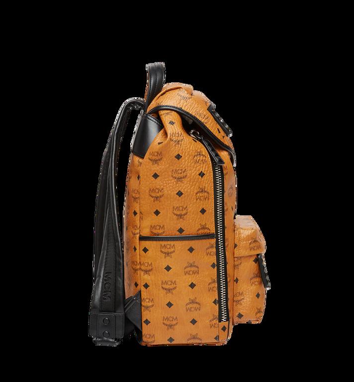 MCM Killian Backpack in Visetos Cognac MUK8SKB09CO001 Alternate View 5