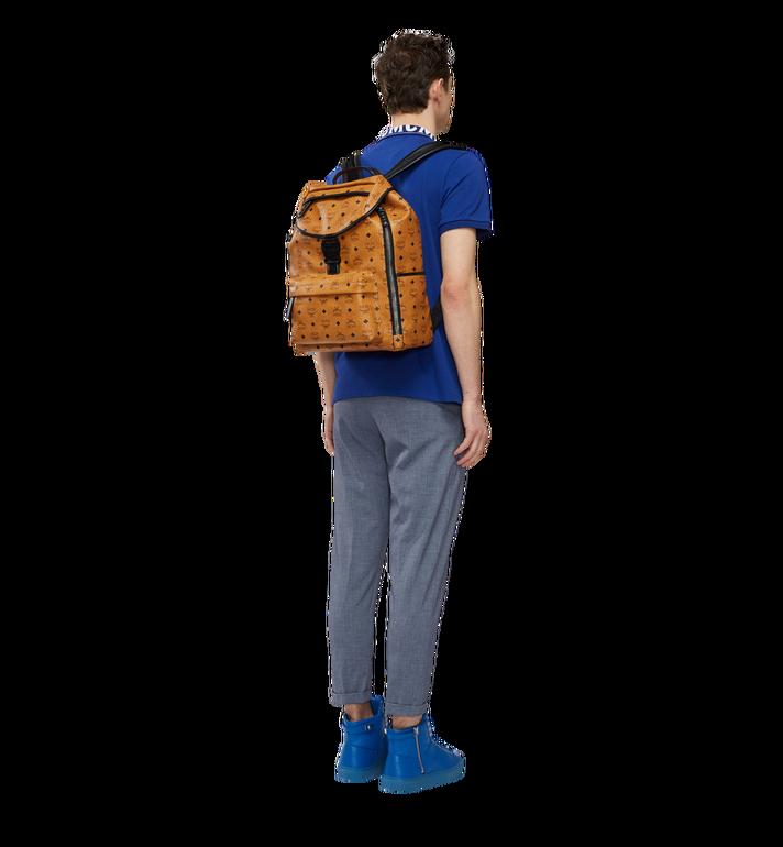 MCM Killian Backpack in Visetos Cognac MUK8SKB09CO001 Alternate View 6