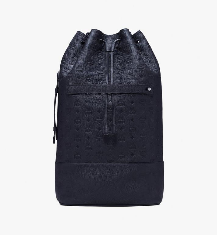 MCM Tivitat Drawstring Backpack in Monogram Leather Alternate View