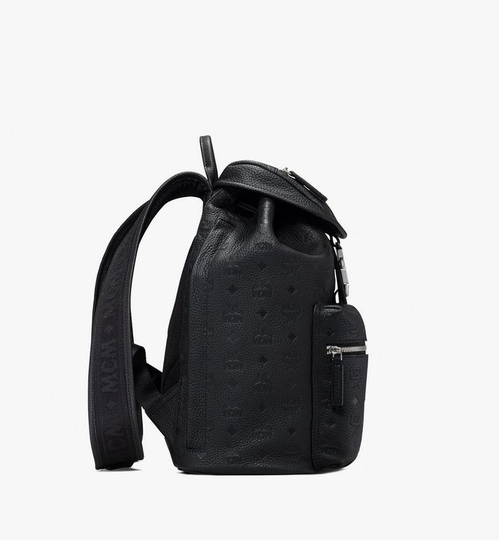 MCM Two-Pocket Backpack in Tivitat Leather Alternate View 2