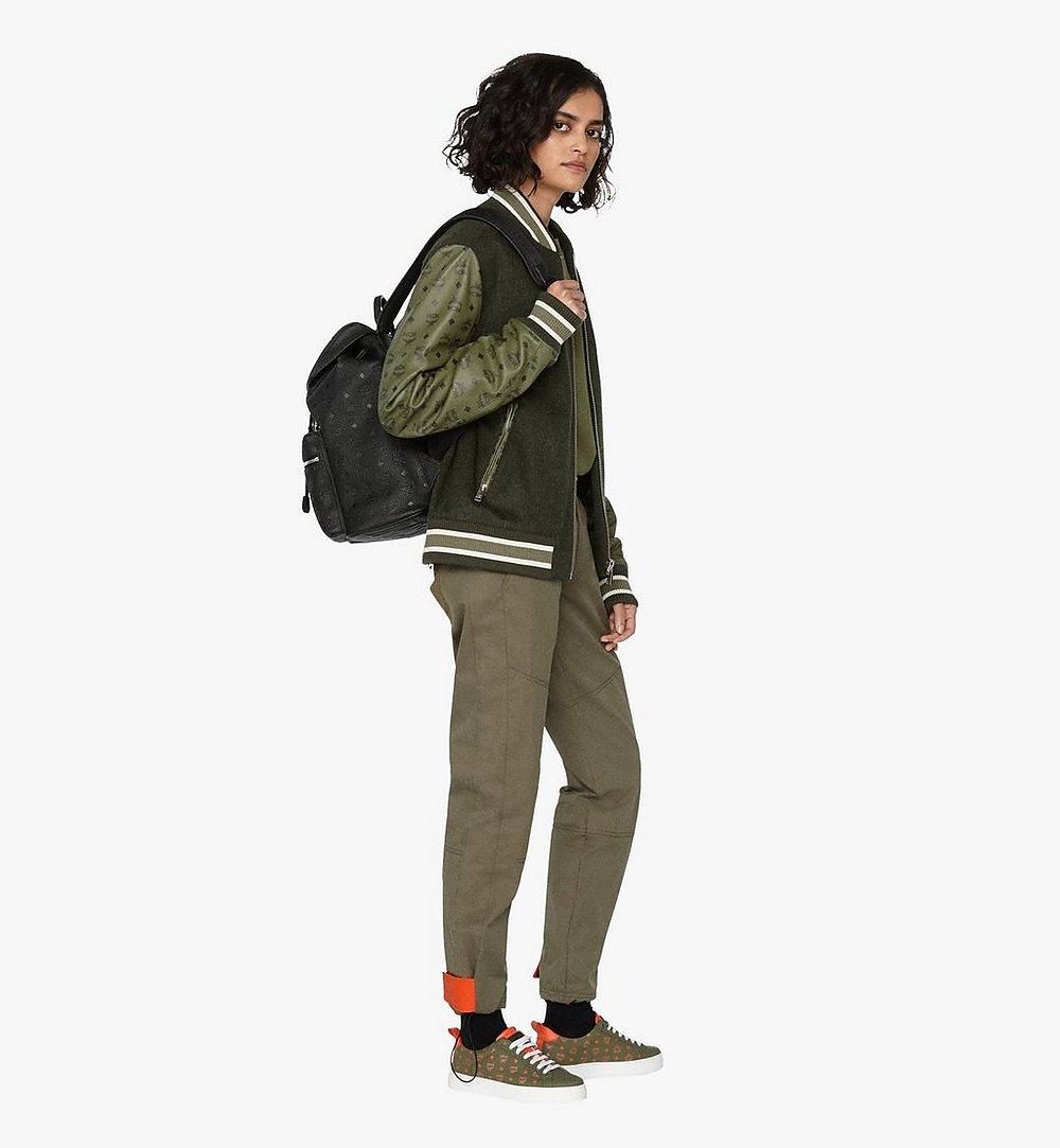 MCM Tivitat Two-Pocket Backpack in Monogram Leather Black MUK9ABT03BK001 Alternate View 5