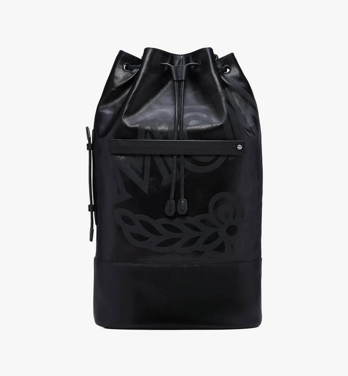 MCM Tivitat Drawstring Backpack  MUK9ABT11BK001 Alternate View 1
