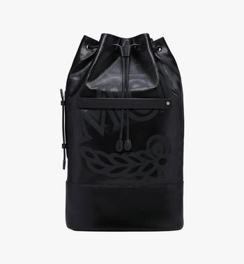 MCM Tivitat Drawstring Backpack in Coated Canvas Alternate View