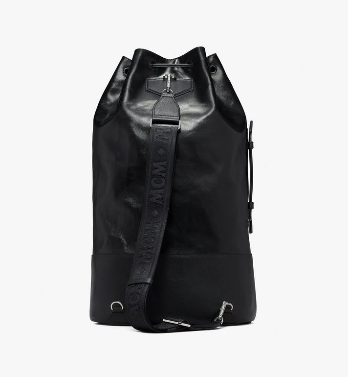 MCM Tivitat Drawstring Backpack in Coated Canvas Alternate View 3