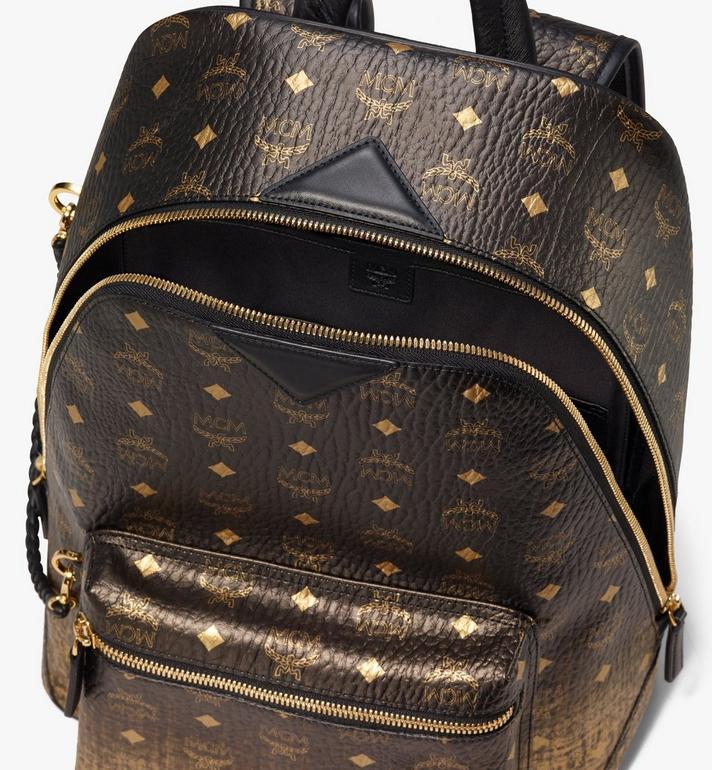 MCM New Duke Backpack in Gradation Visetos Alternate View 4