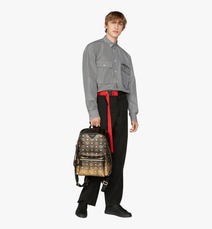 MCM New Duke Backpack in Gradation Visetos Alternate View 6