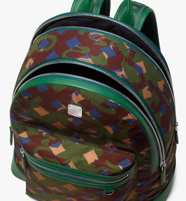 MCM Dieter Rucksack in Munich Lion Camo  MUK9ADT90G5001 Alternate View 4
