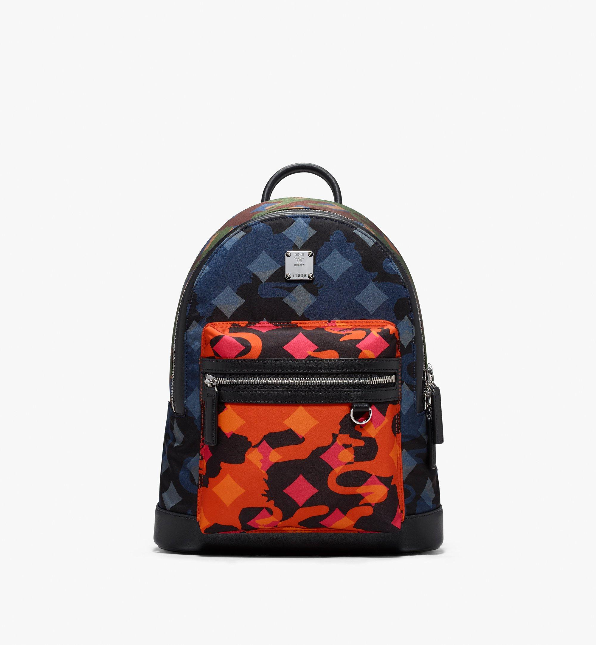 32 cm 12.5 in Dieter Rucksack in Munich Lion Camo Multi