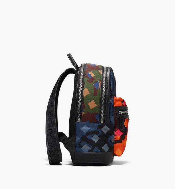 MCM Dieter Backpack in Munich Lion Camo Alternate View 2