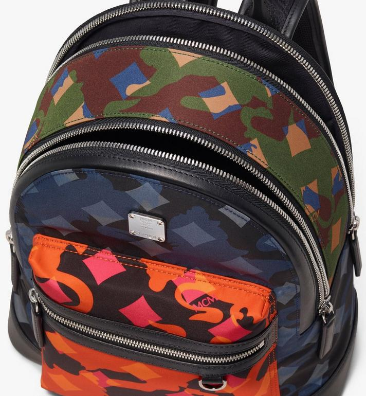 MCM Dieter Backpack in Munich Lion Camo  MUK9ADT91MT001 Alternate View 4